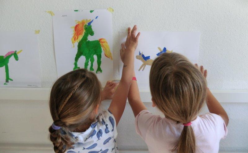 Themen-Malkurs Einhörner malen